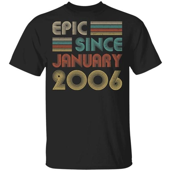 Epic Since March 2004 16th Birthday Gift 16 Years Old T-Shirt