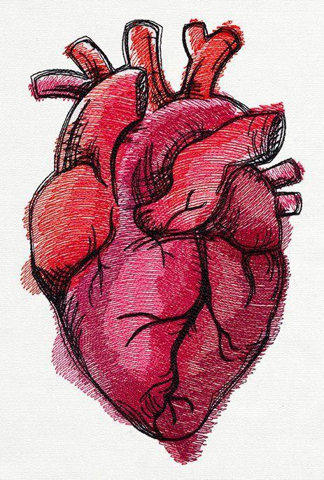 Imagen de heart and art | art | Pinterest | Drawings, Sketches and ...