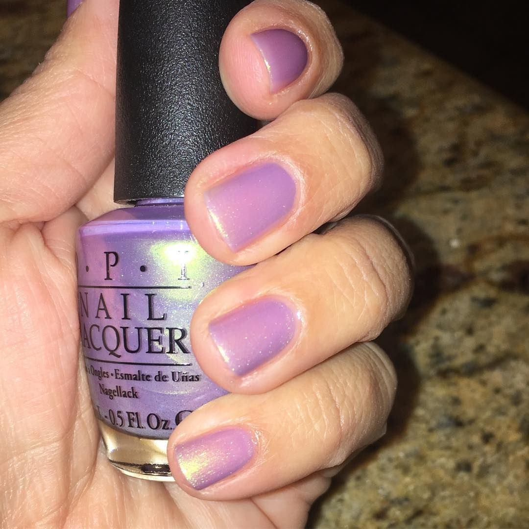 OPI in \'Significant Other Color\' | iridescent pink nail polish ...
