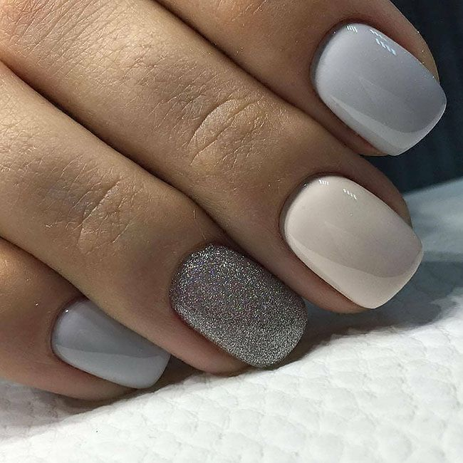 28 New Year's stylish Nails Design Ideas 2019  Page 16 of 34  Soflyme is part of Cute nails Tumblr Grey - The taupe color is wonderfully combined with all popular techniques and decor options  Do you want a lunar or French jacket using this tone  No problem  Or maybe you are more attracted by geometric nail art  Then, be sure that a variety