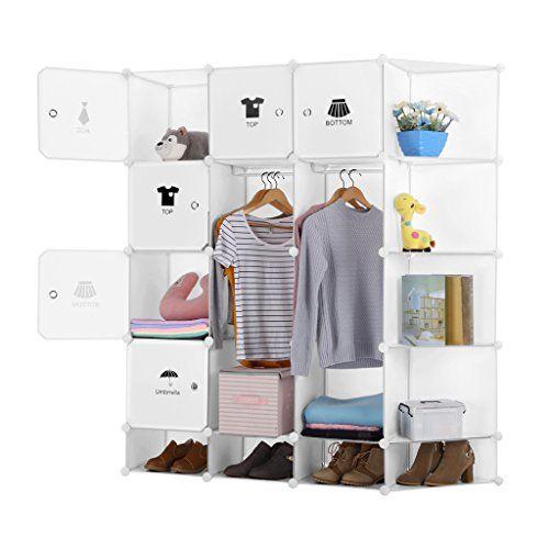 LANGRIA 12-Cube DIY Portable Closet Wardrobe, Organizer S... https://www.amazon.com/dp/B01M2X8YYP/ref=cm_sw_r_pi_awdb_x_Psbnzb24FKJ4Z