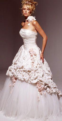 Pompadour Ian Stuart Provestra Pink Wedding Dresses Wedding Dresses Bridal Gowns