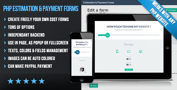 Php Flat Estimation  Payment Forms  Create Easily Your Own Flat
