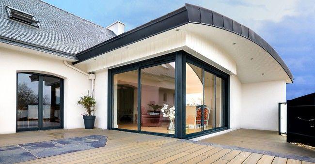 agrandissement maison toit incliné - Recherche Google Inspirations