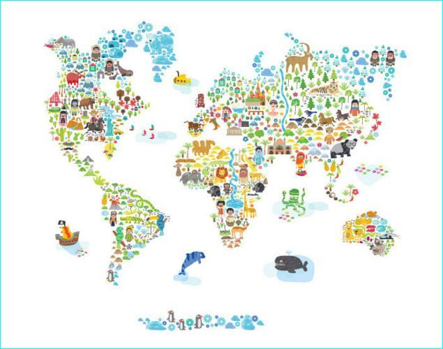 Pin by brookebeckerdesign on 30 draw an entire world map from memory explore fabric walls world maps and more gumiabroncs Choice Image