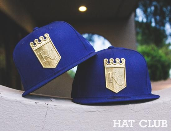 wholesale dealer cbc9e fe7e1 Custom Kansas City Royals Fitted Cap   HAT CLUB