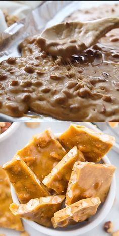 Peanut Brittle Recipe | Made in the Microwave! - P