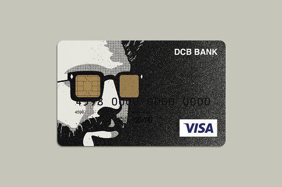 Fashion Portrait Bank Card Design Credit Card Design Debit Card Design Card Design