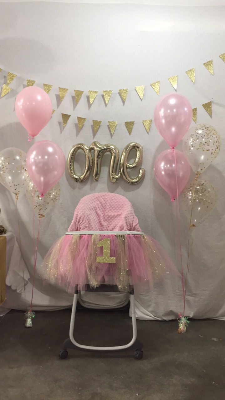 Avi S 1st Birthday Girl Birthday Decorations 1st Birthday Girl Decorations First Birthday Decorations