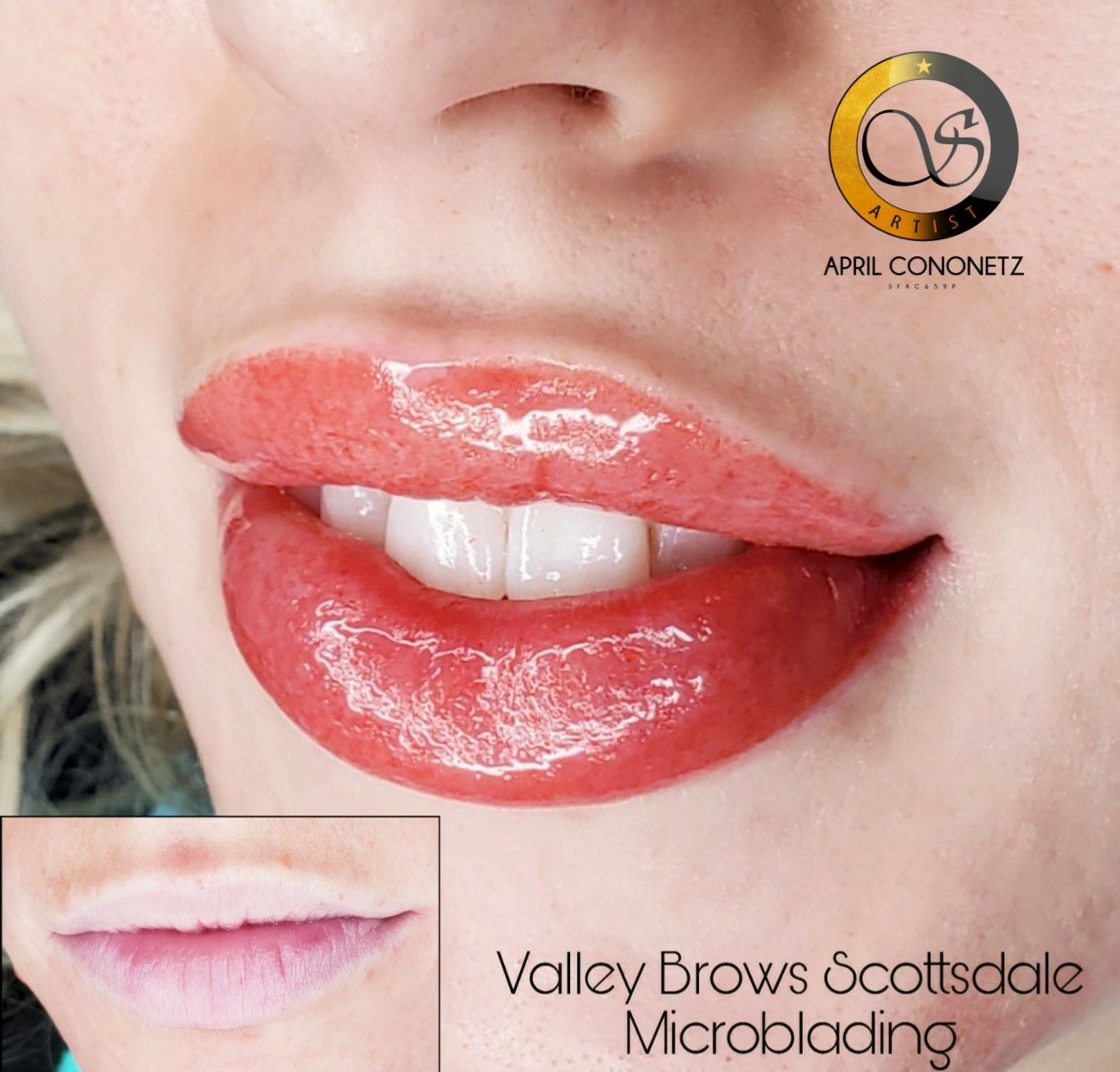 Gorgeous Lip Blush Transformation Go To Valleybrows Com Or Call
