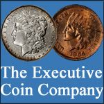 Executive Coin Company is a family-owned business serving coin collectors since 1990. We are committed to providing competitive prices, detailed color photographs and outstanding customer service. You will feel a difference in how we take care to capture each coin's unique character with detailed photographs.