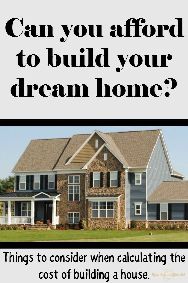 Cost Of Building A House Building A House Cost Building A House