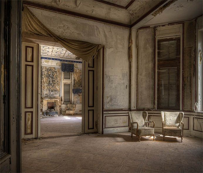 Chateau in Decay by Rolf Janssen - #abandoned #decay #derelict #exploration #hdr #urban #urbex