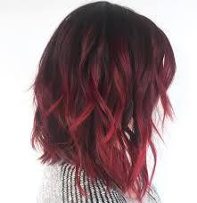 27+ Medium length burgundy hair inspirations