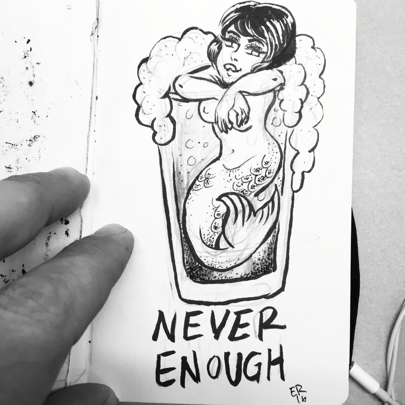 Mermaid Ina Beer Another Tattoo I Want To Get Now I Based This