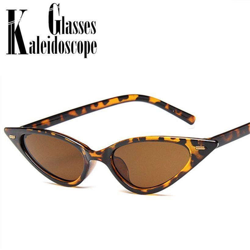 c204e19404a2 Women Sexy Cat Eye Sunglasses Brand Designer Small Triangle Vintage Sun  Glasses  fashion  clothing  shoes  accessories  womensaccessories ...