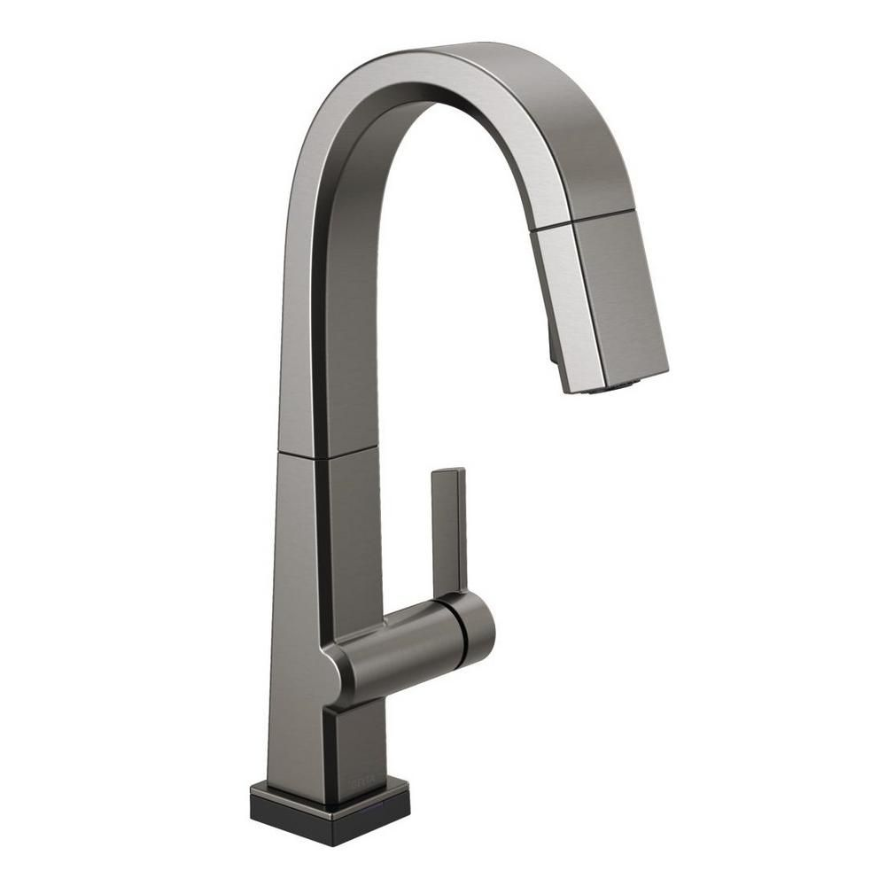 delta pivotal single handle bar faucet with touch2o technology and rh pinterest com