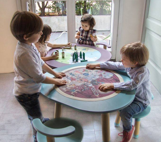 MU]table: The Multi-Functional Children\'s Play Table by Martina and ...