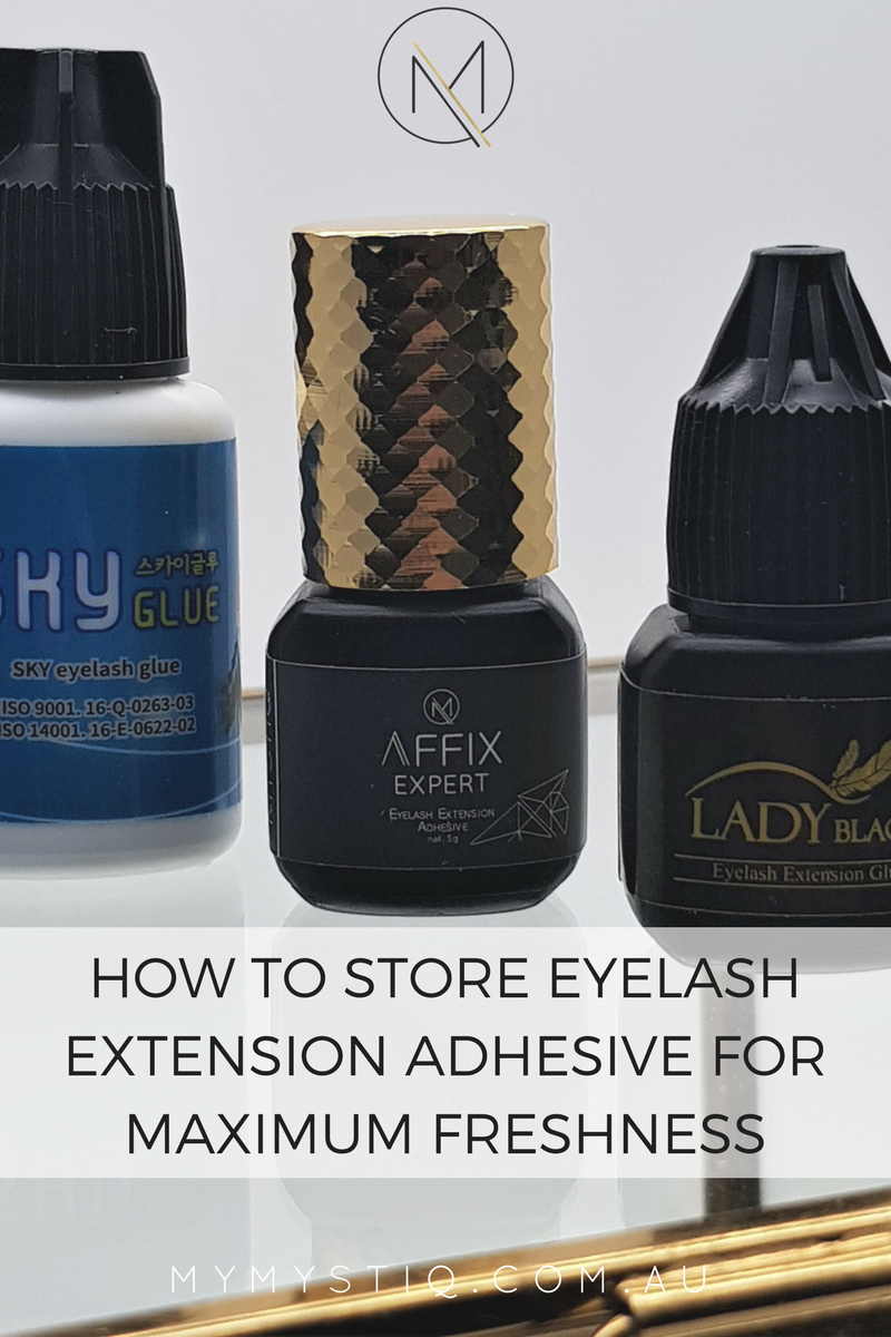 How to Store Eyelash Extension Adhesive for Maximum ...