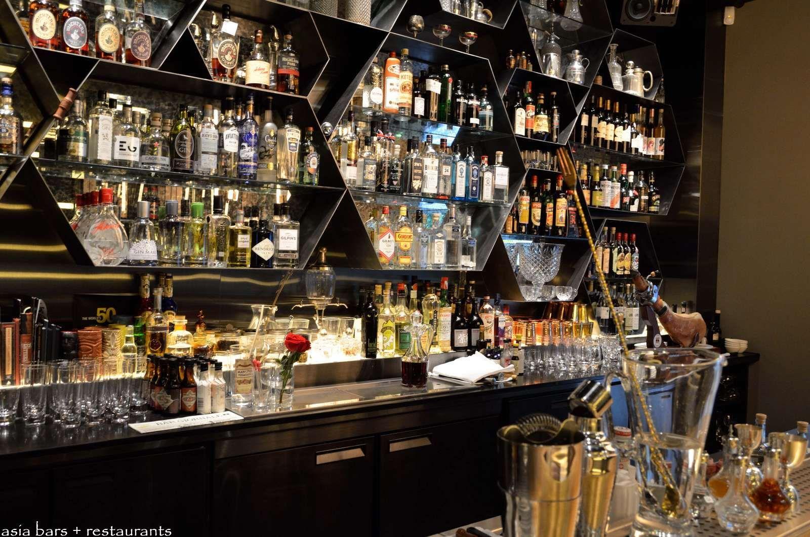 Stainless Steel Back Bar Shelves Bar Back Walls