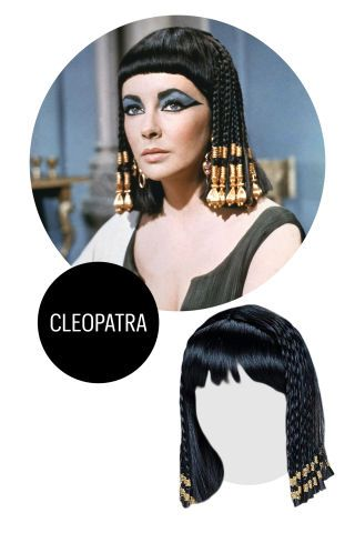 7 Halloween Costume Ideas That Only Require A Wig Halloween Costume Wigs Best Wigs Cleopatra Wig