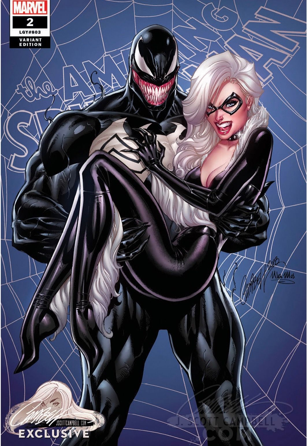Venom And Black Cat Be The Villain To Beat The Villain Pinterest