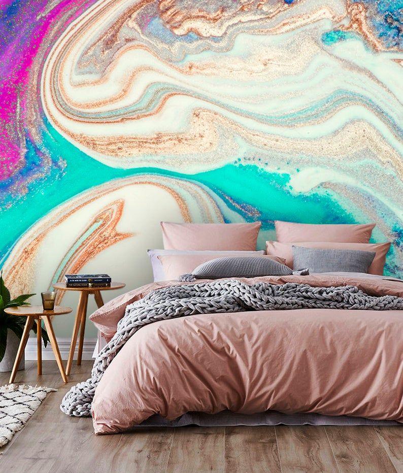 Wallpaperadhesive Vinylinkabstract Etsy Vinyl Wallpaper Wallpaper Bedroom Wall Murals