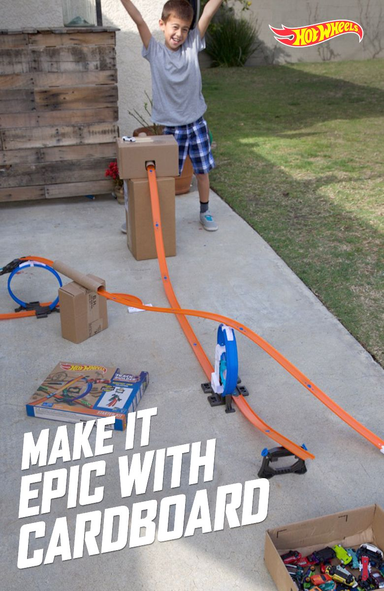 To make Hot Wheels races and stunts even more exhilarating