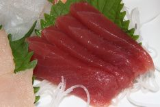 Tuna 3. House Special Sashimi Plate - assortment with quality and variety seasonal price $80.00