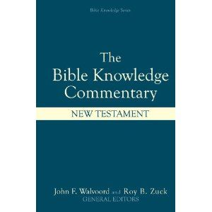 Even I Can Understand This Commentary Bible Knowledge New Testament Bible