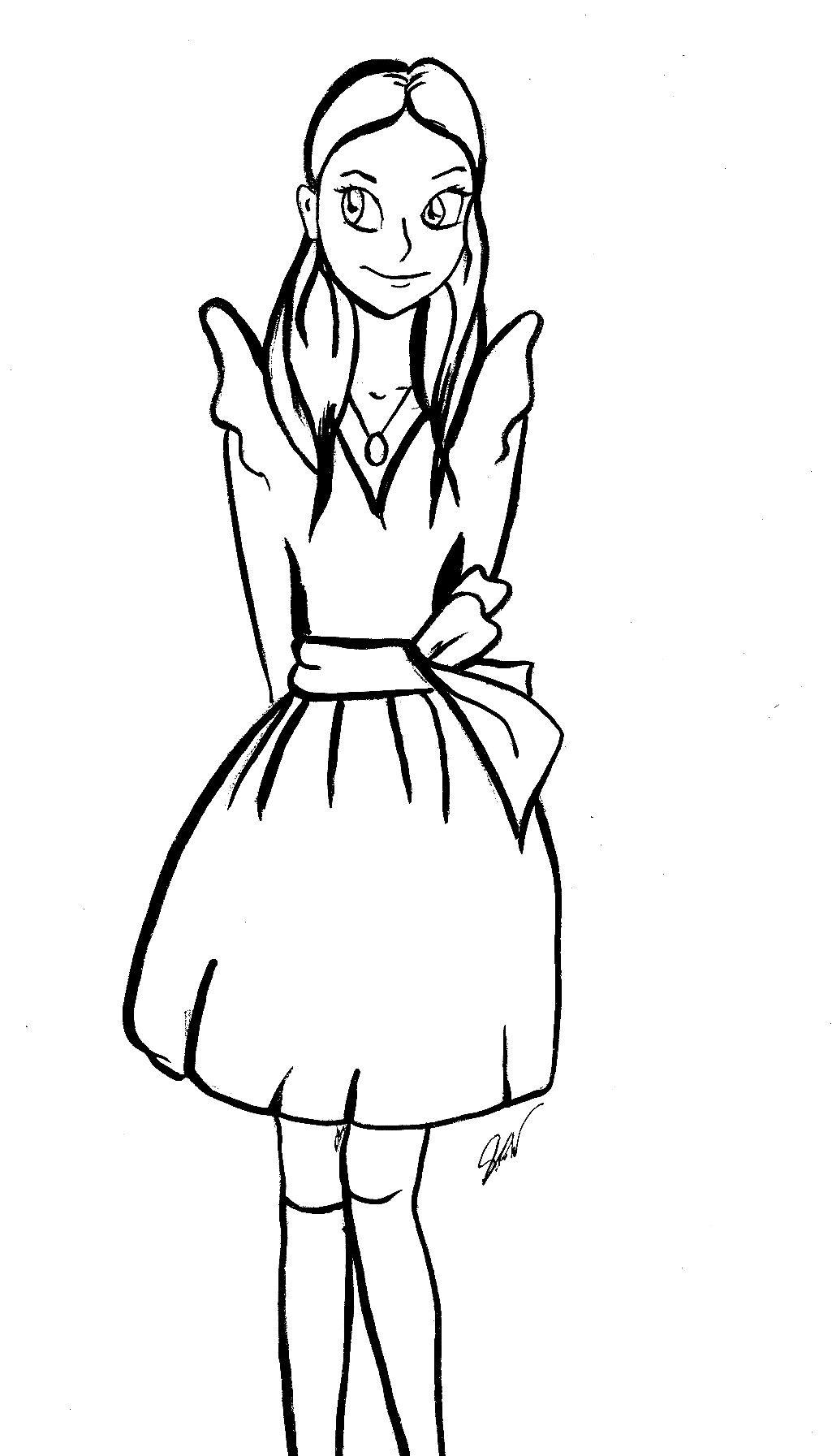 Violetta Disegno Illustrazioni Violav Alice