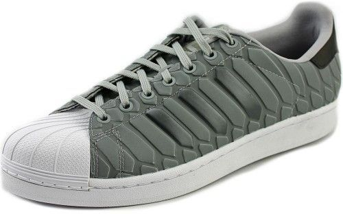 adidas Superstar Men US 10.5 Gray Sneakers UK 10 EU 45