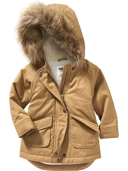Old navy toddler parka