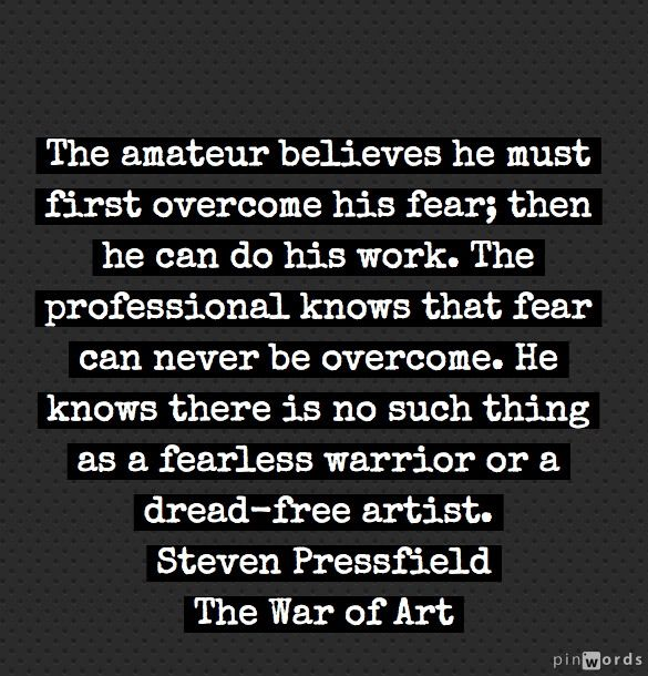 From Steven Pressfield The War Of Art Sayings Quotes Art