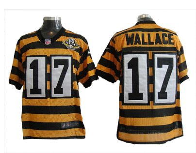 best website 36e5f a962c Wallace Jersey: Nike NFL Team 80 Anniversary Throwback #17 ...