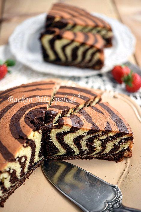 Zebrakuchen Torten Pinterest