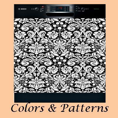 Sticker Panels To Decorate Appliances Fridges Dishwasher