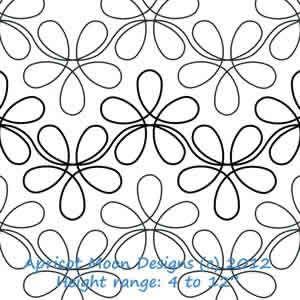 Digital Quilting Design Flower Child by Apricot Moon. | Quilting ... : digital quilting designs free - Adamdwight.com