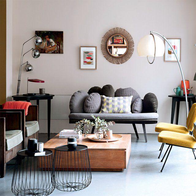 Des salons modernes qui mixent les styles | Mobilier classique, La ...
