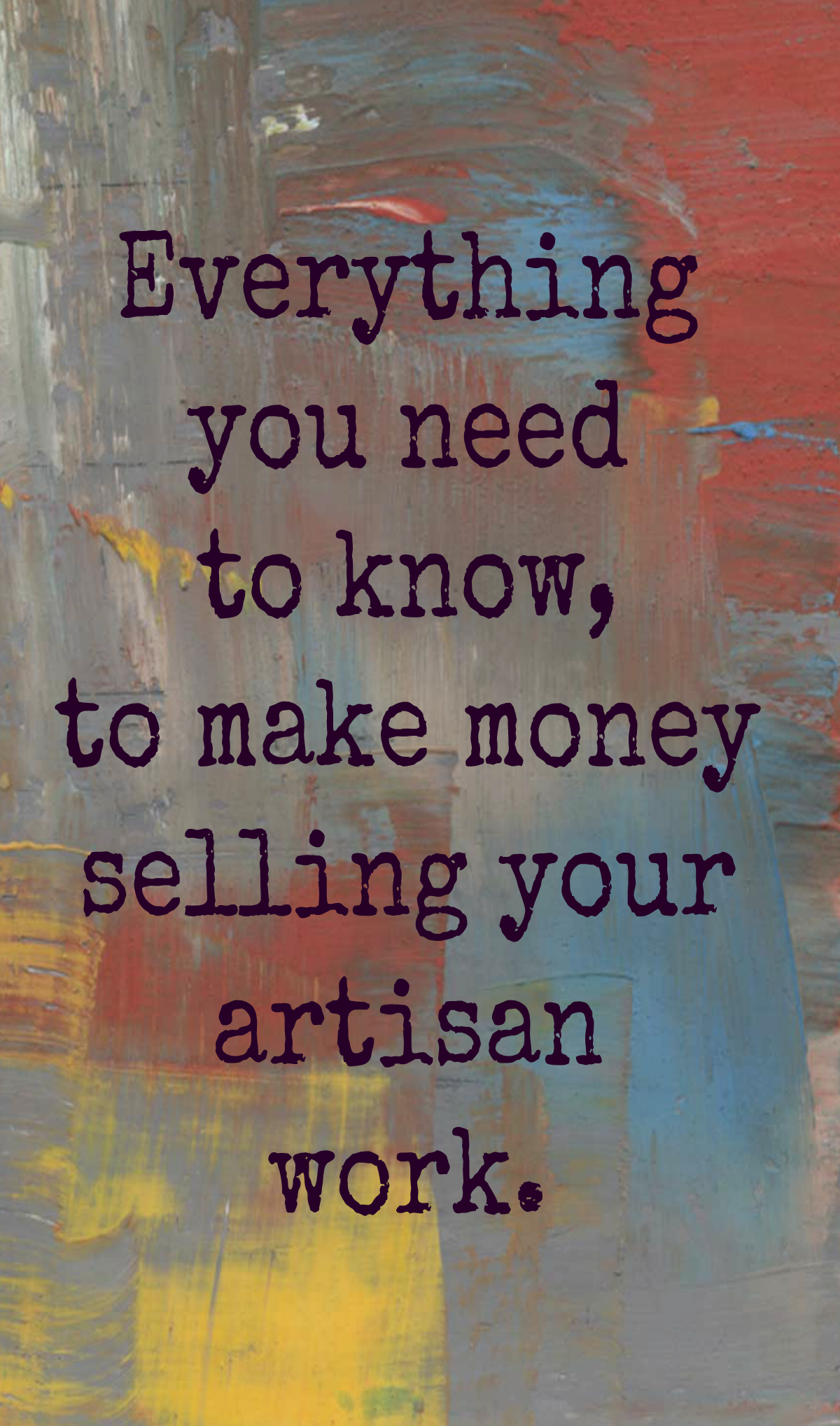 how to start selling your art
