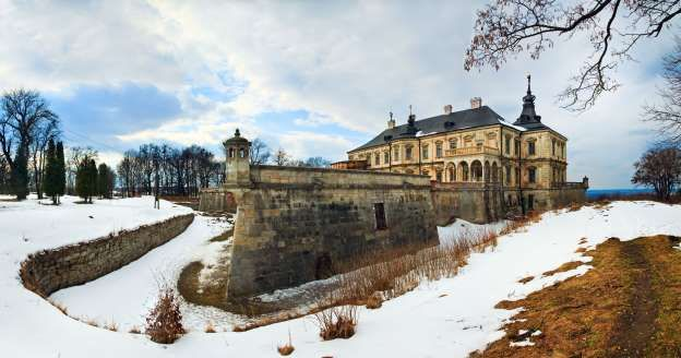Pidhirtsi Castle Ukraine 'Abandoned Castles and Mansions' - Yuriy Brykaylo/Getty Images
