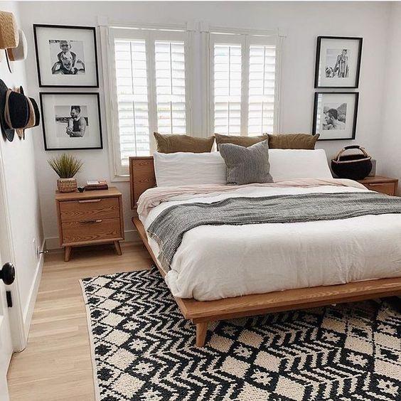 50 rustikale Boho Schlafzimmer Dekor Ideen für kleine