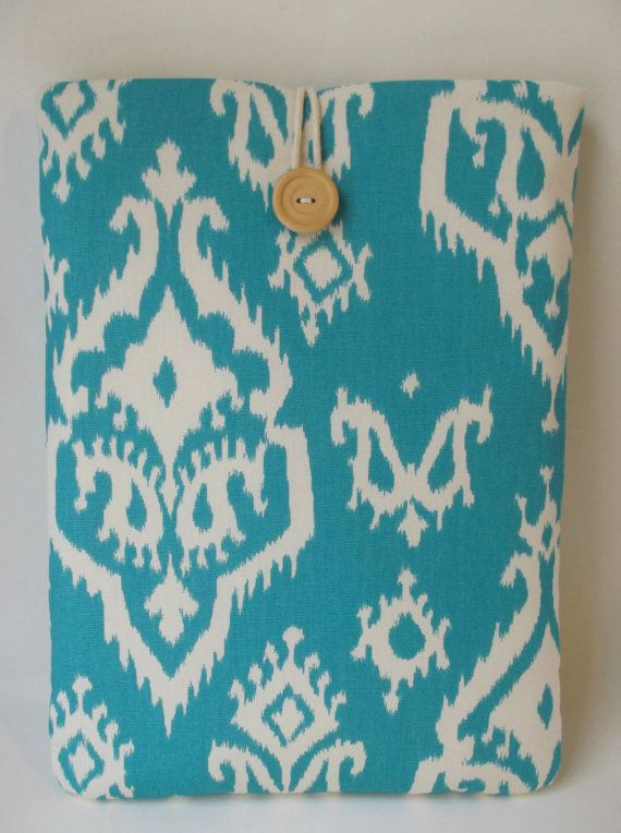 e06b038d0600 Turquoise Laptop Case iKat MacBook Air 13 inch Case Sleeve Padded ...