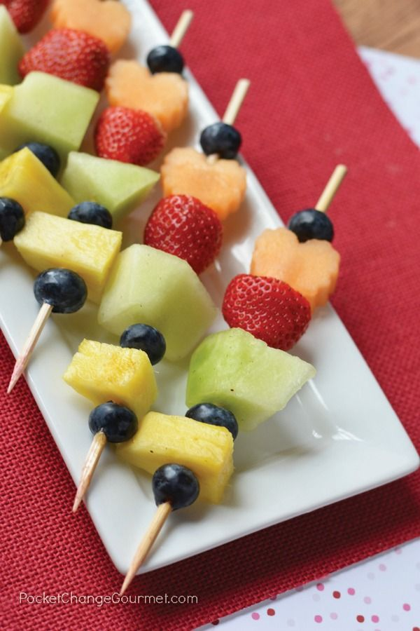 Do you struggle to get your kiddos to eat healthy? It's doesn't get much easier than these Fruit Kabobs for Kids. They are as fun to make as they are to eat too.