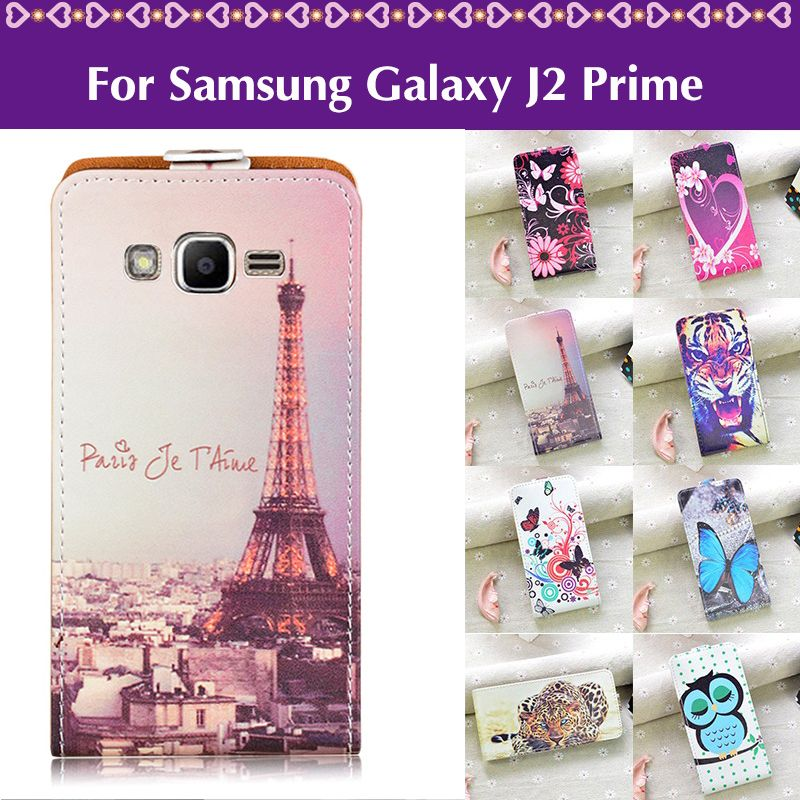J R Phone Case For Samsung Galaxy J2 Prime G532 G532f Case Cartoon Print Pu Leather Flip Cover For Samsung J2 Prime Cover Case Case Samsung Galaxy A3 Phone