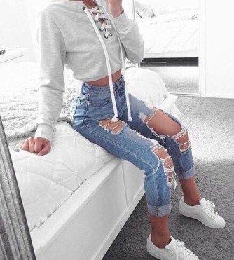 Photo of 46 Wunderbare zerrissene Jeans Winter Outfits Ideen – X Mode Frauen