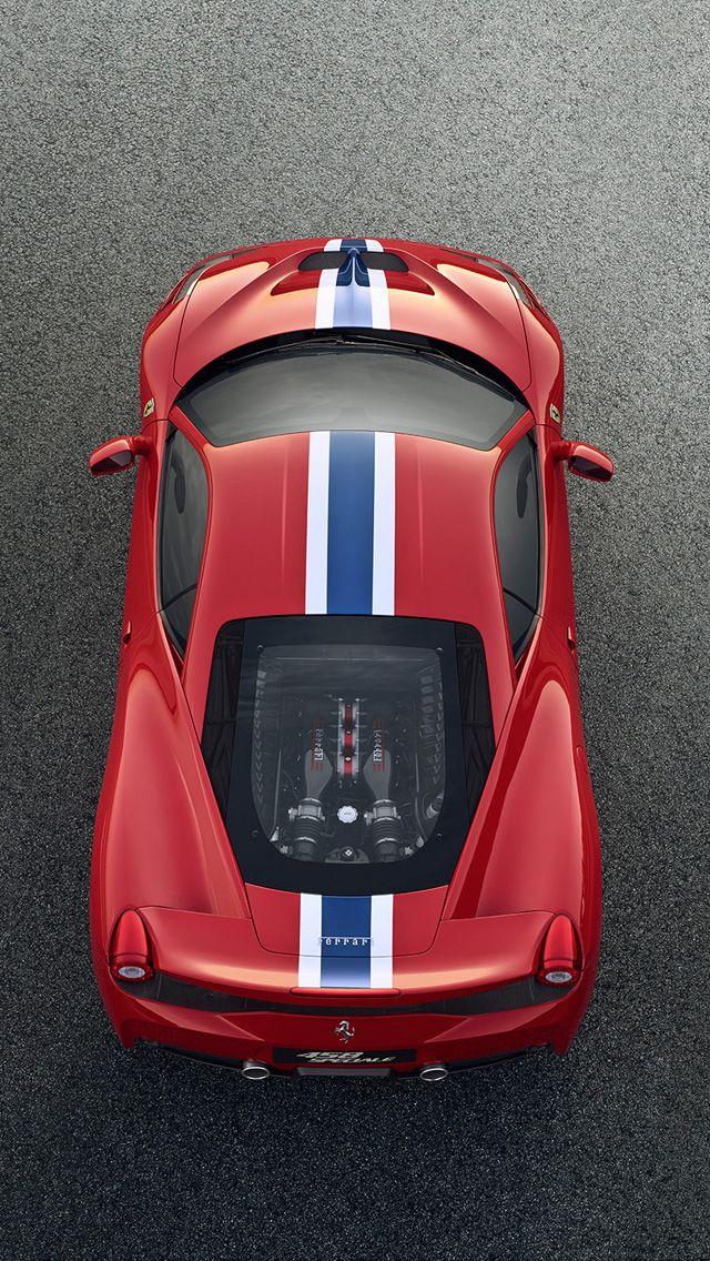 2014 Ferrari 458 Italia Speciale Wallpaper Iphone 5 Wallpaper