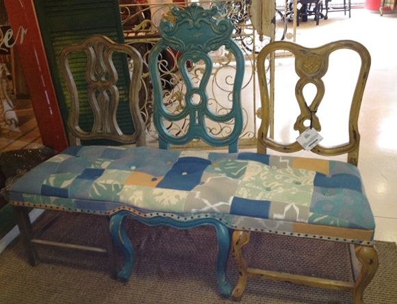 3 Chairs? Bench? Both? #hpmkt