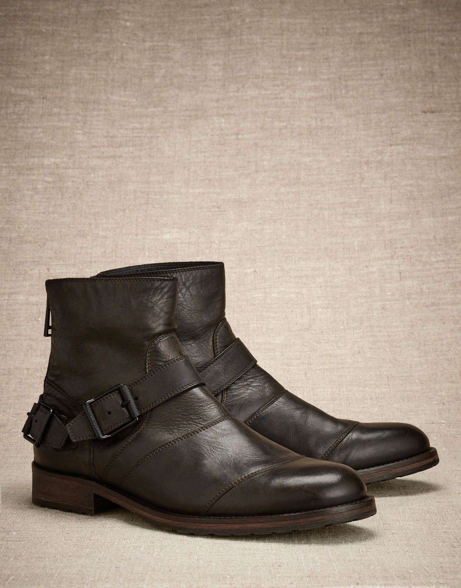9b11149c802a Trialmaster Short Boot - Black Leather Shoes