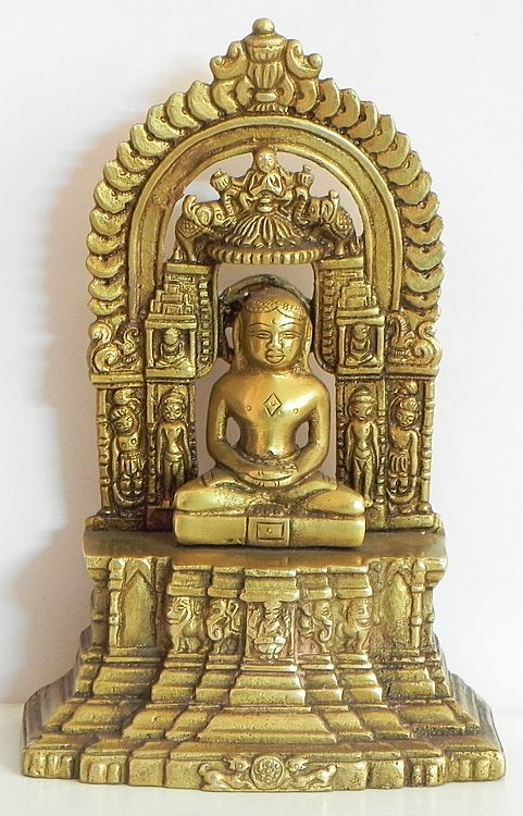 Lord Mahavir (Brass))